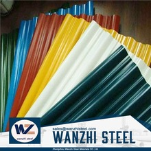 cheap price roof metal corrugated roofing steel sheet