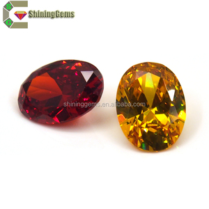 Perfect Cutting Multicolor Oval Diamond Cut Jaipur Gemstone for Earrings