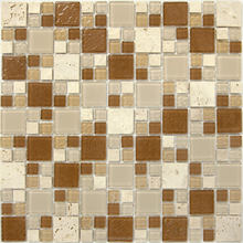 MINI glass mix stone mosaic crystal glass mosaic tiles glass mosaic for swimming pool tiles