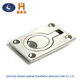 Boat Accessories Marine Stainless steel Hatch Locker Cabinet flush Lift / Pull Ring Handle