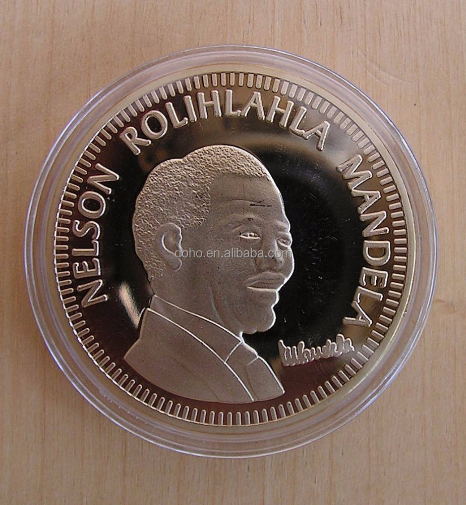 Nelson Mandela 10 Years of Freedom Commemorative Medallic Coin * New *