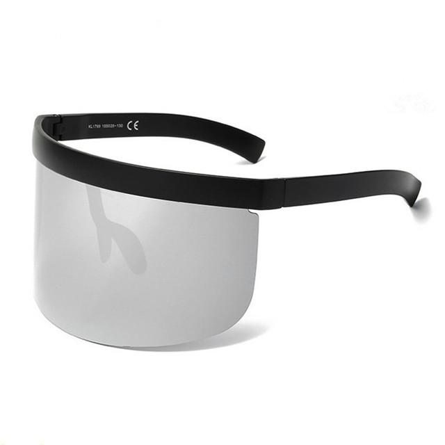 Fashion newest no make upartifact sun glasses 2019 anti-glare crazy party sun shades face masks sunglasses фото
