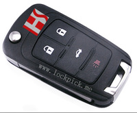 High quality brand new car 4 button flip remote key for Chevrolet Cruz , for Buick Excel wholesale 210130
