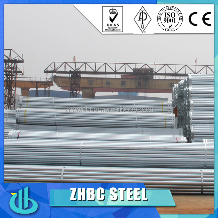 bs1387 galvanized steelpipe factory with API 5L, 5CT, ISO9001