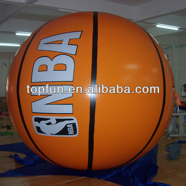 newest inflatable outdoor events promotion basketball balloon