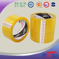 40mic*48mm*66m Yellowish Bopp Packing Tape as your requirement.