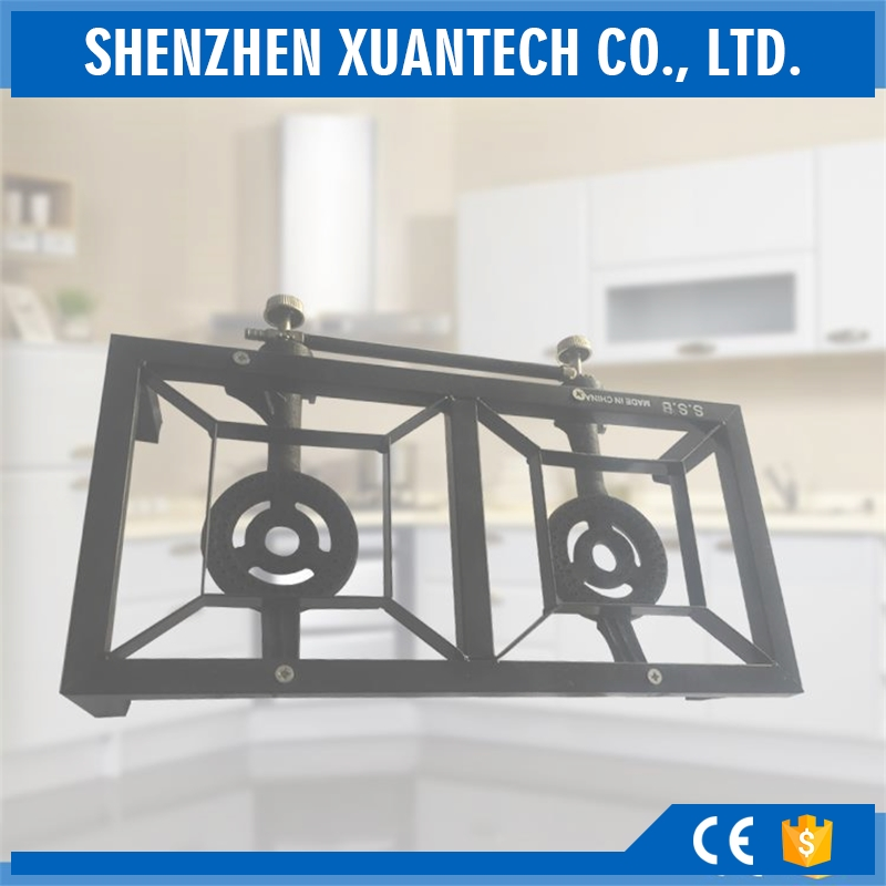 two burners gas cooker, gas stove for garden, gas heater cooker