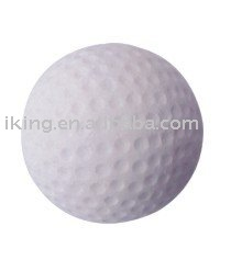 63mm rubber golf ball toys for children,high bounce rubber ball,natural white rubber golfball