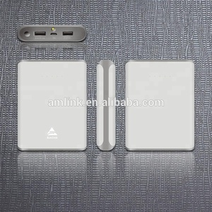 Micro USB Socket Type and 2 USB Port 15000mAh laptop power bank
