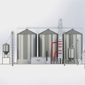 2018 hot product ISO qualified at factory price small grain silos 3 ton capacity small grain silos