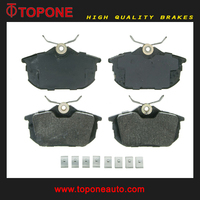 For MITSUBISHI VOLVO S40 Parts Rear Brake Pads D838 21860 2186102 A-739K D6120 FDB1095