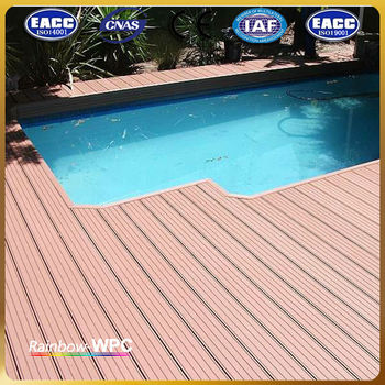 Factory Price Fire Resistant Solid Wood Plastic Composite