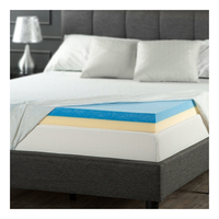 Luxury memory foam topper