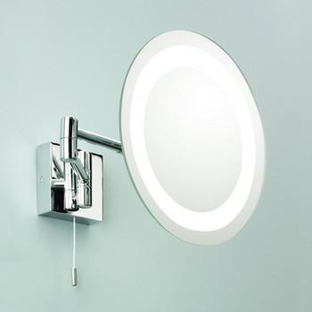 Ronde Verstelbare Wand Badkamer Geleid Spiegel Lamp Voor Make-up ...