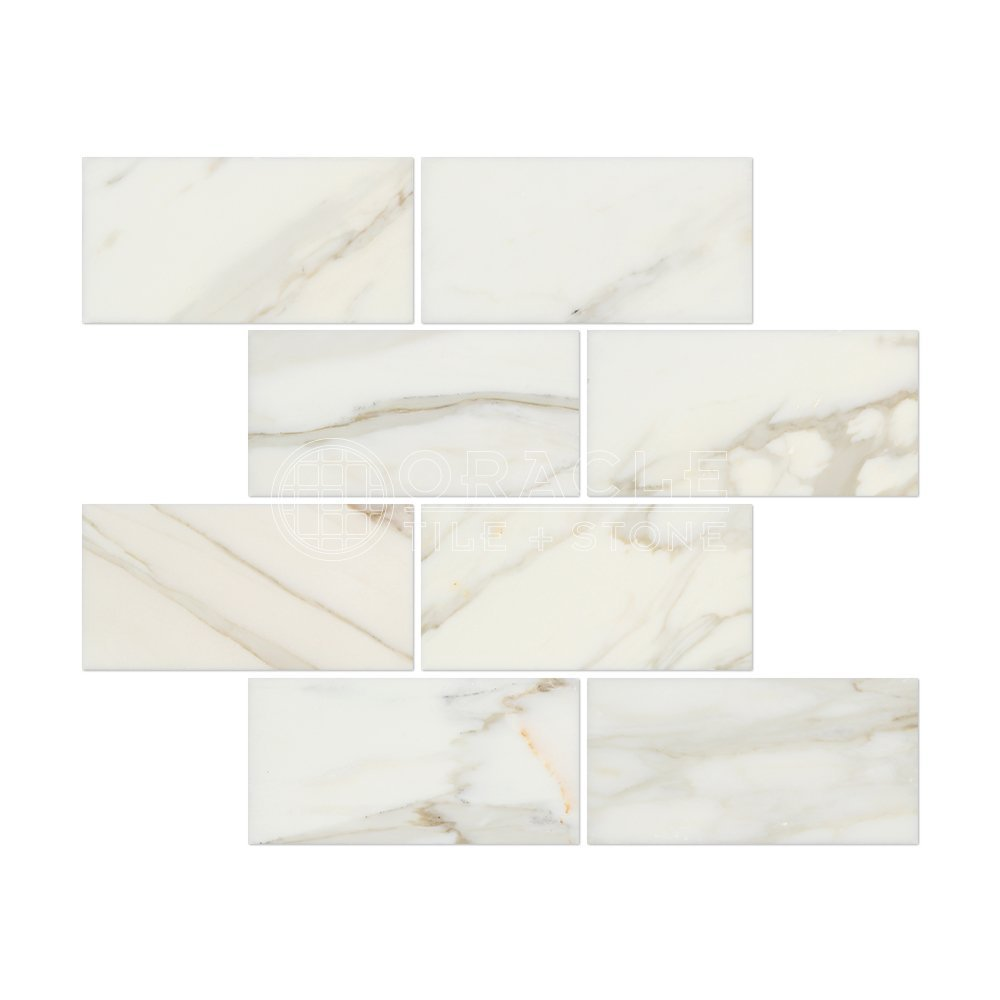 Cheap subway marble tile find subway marble tile deals on line at calacatta gold italian calcutta marble 3 x 6 subway field tile honed dailygadgetfo Images