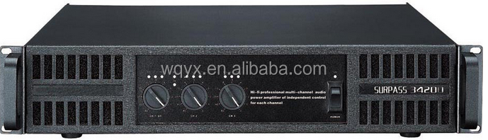 4 ch/2ch/6ch 800W professional high quality power amplifier