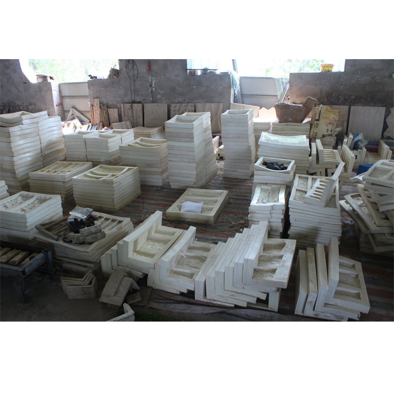 hot selling rubber natural stone veneer molds for concrete walls