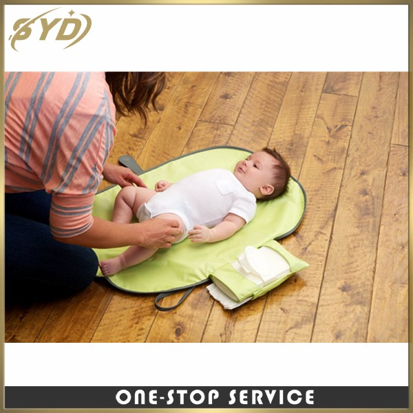 Multi function waterproof portable baby changing pad foldable baby changing mat