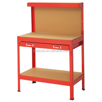 Small Size Metal Drawer Workbench Useful Industrial Tools Folding - Small metal work table