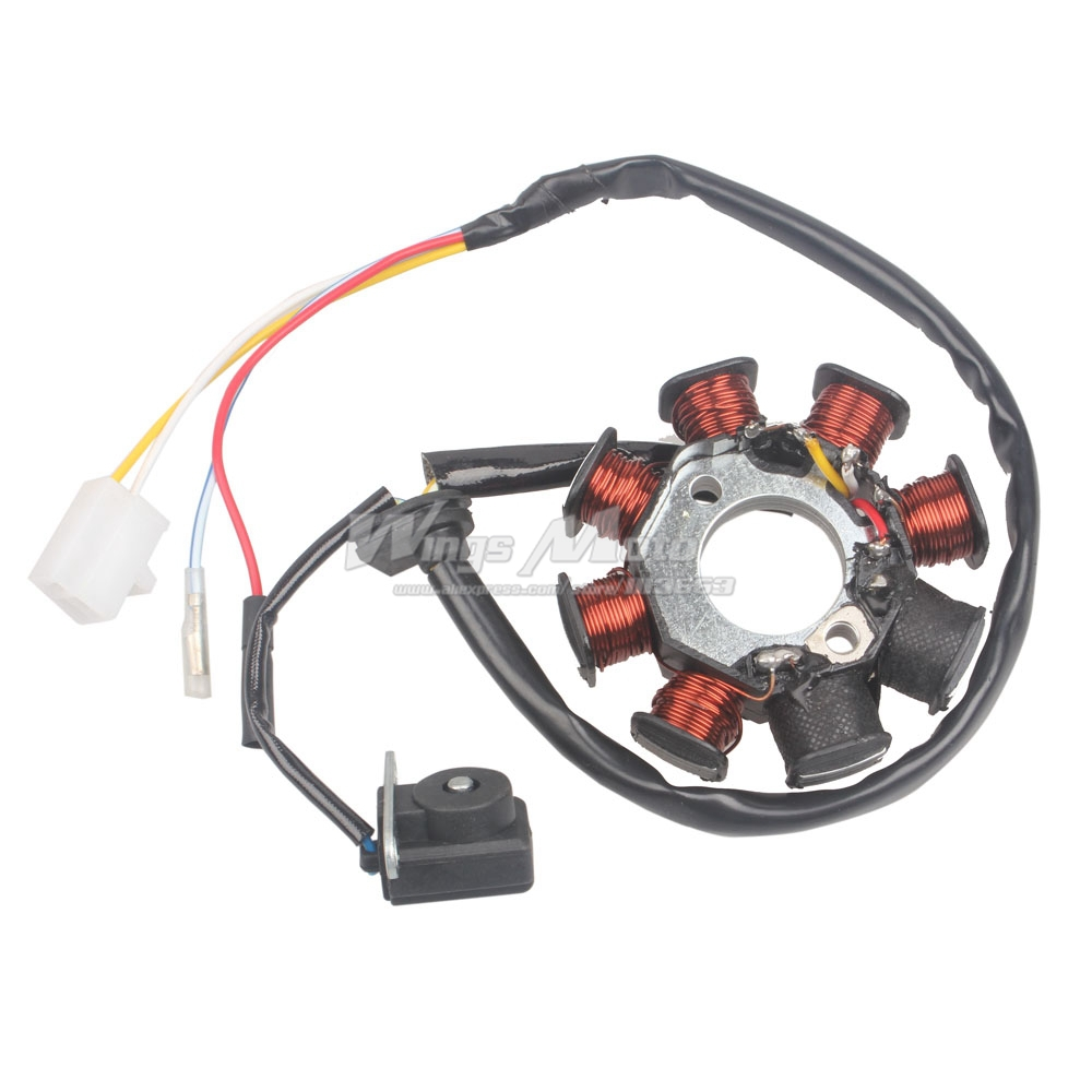 go kart wiring harness online buy wholesale gy6 150cc stator from china gy6 150cc gy6 150cc go kart wiring harness kit