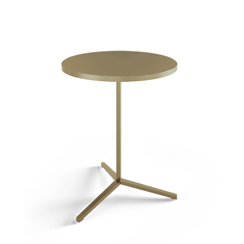 Modern Round Solid Metal Coffee Side Table And Living Room Coffee Table