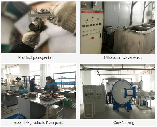 Yangzhou Bonai Volvo Radiator Making Machine Used Oil Cooler ...