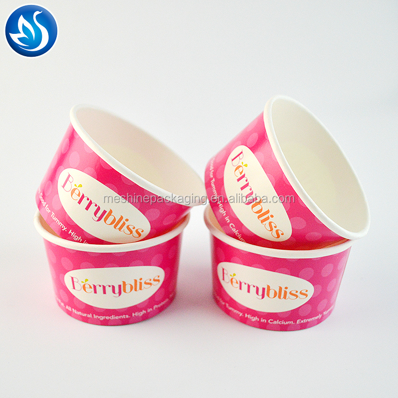 Ice cream paper cup box paper box packaging