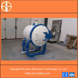 New condition induction heating type vacuum silicon carbide sintering furnace