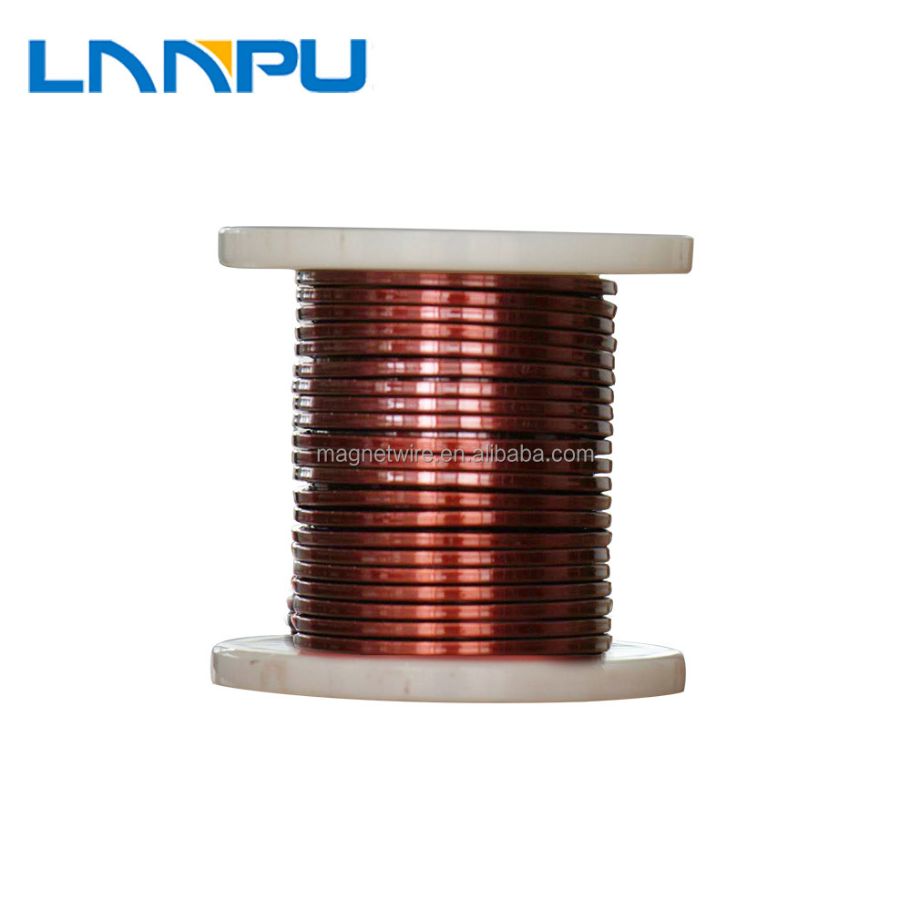 Ul Standards Polyamide-imide 4mm Copper Magnet Wire For Electric ...