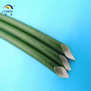 2.5KV Unique fiberglass sleeving coated with silicone resin