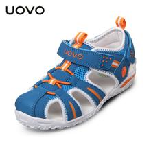 UOVO New Children Beach Sandals Boys Safty Kids Shoes For Girls Non Slip Sandalias Infantil Girls