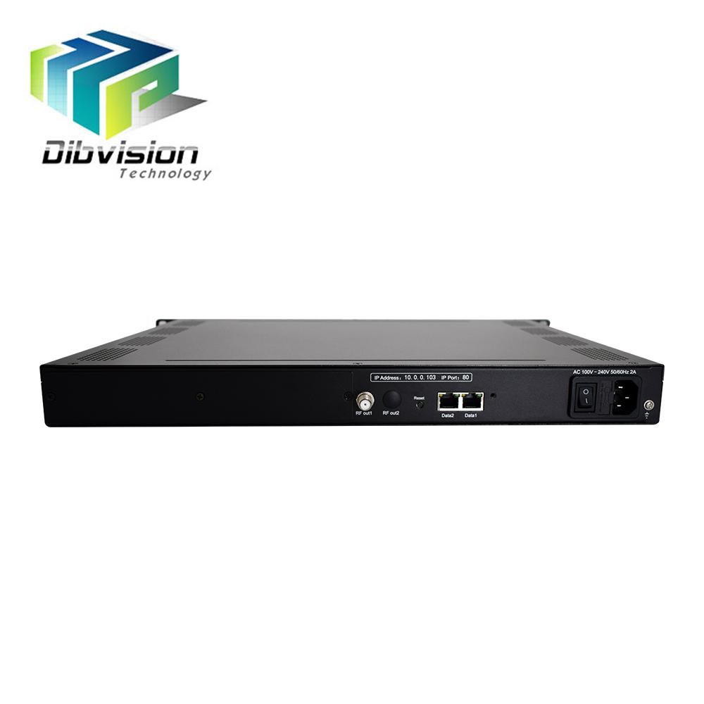 Digital headend IP to RF ISDB-T/Tb cable tv modulator with 6