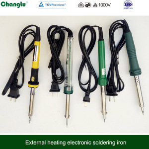 adjustable 60W electronic soldering iron 220-240V soldering iron external heating