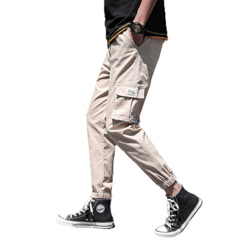 2019 new fashion military style cheap cargo pants design sports trousers for men custom logo