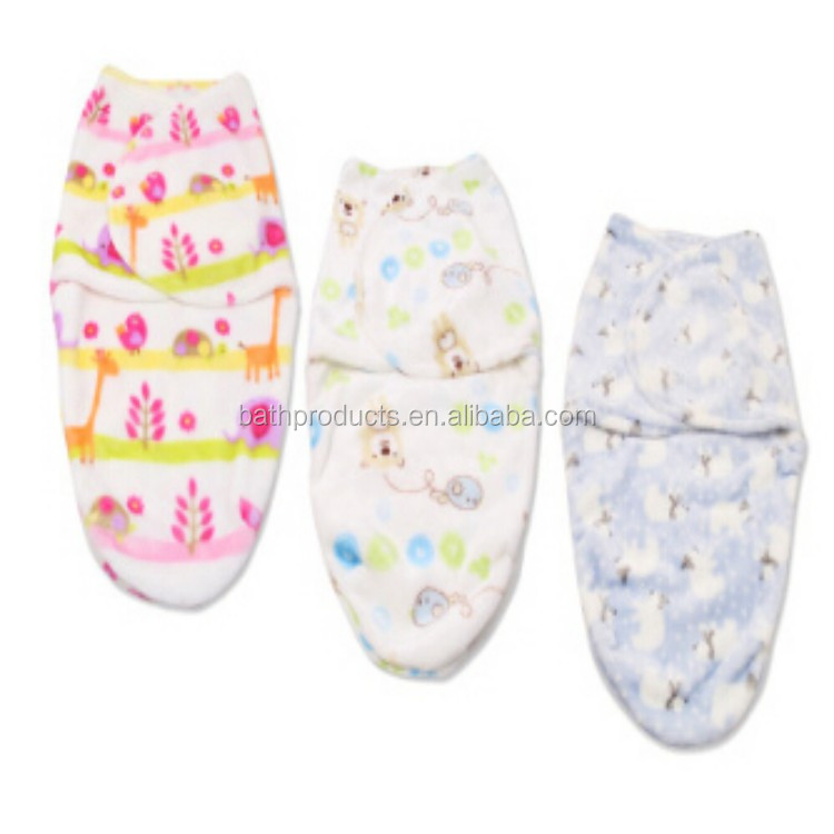 Flannel infant cartoon printed spring and autumn knit patterns free flannel cotton baby blanket