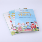 Eco-friendly short english story books for kids tamil story books