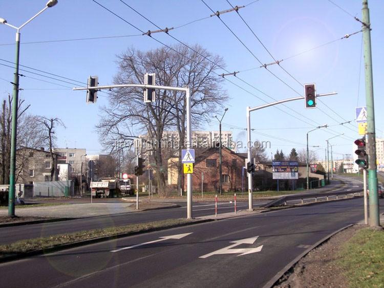 2016 Newest Traffic Light Q235 Steel Street Light Pole Light Post ...