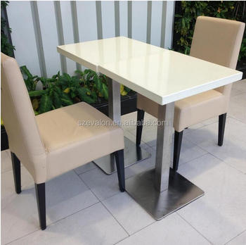 Aiweiluo Top Quality Wall Mounted Dining Table Restaurant With Chairs Tables And Dressing