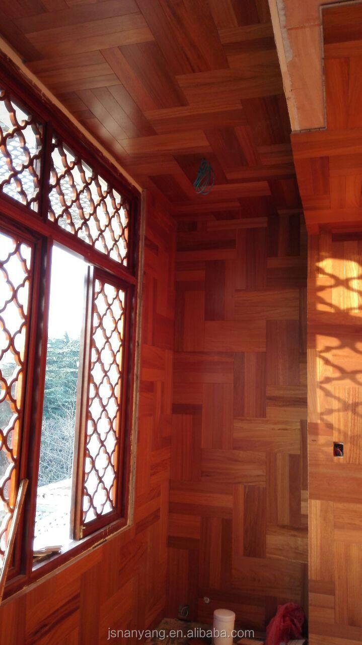 Ontworpen houten parket wandpanelen laminaatvloer product id ...