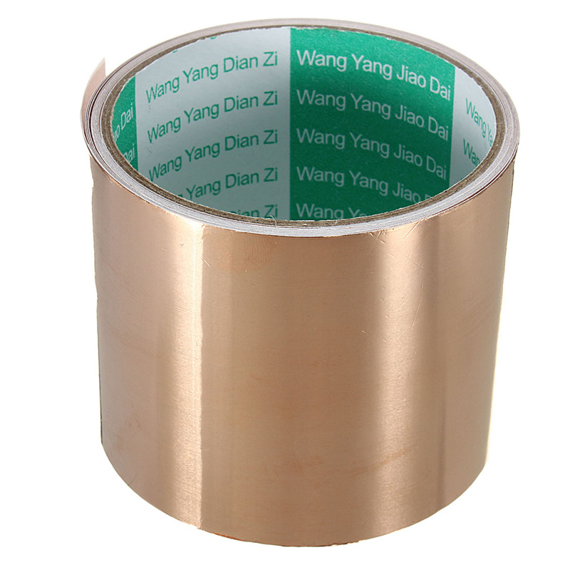 Thin insulation copper foil adhesive tape thickness 0.1mm for pcb