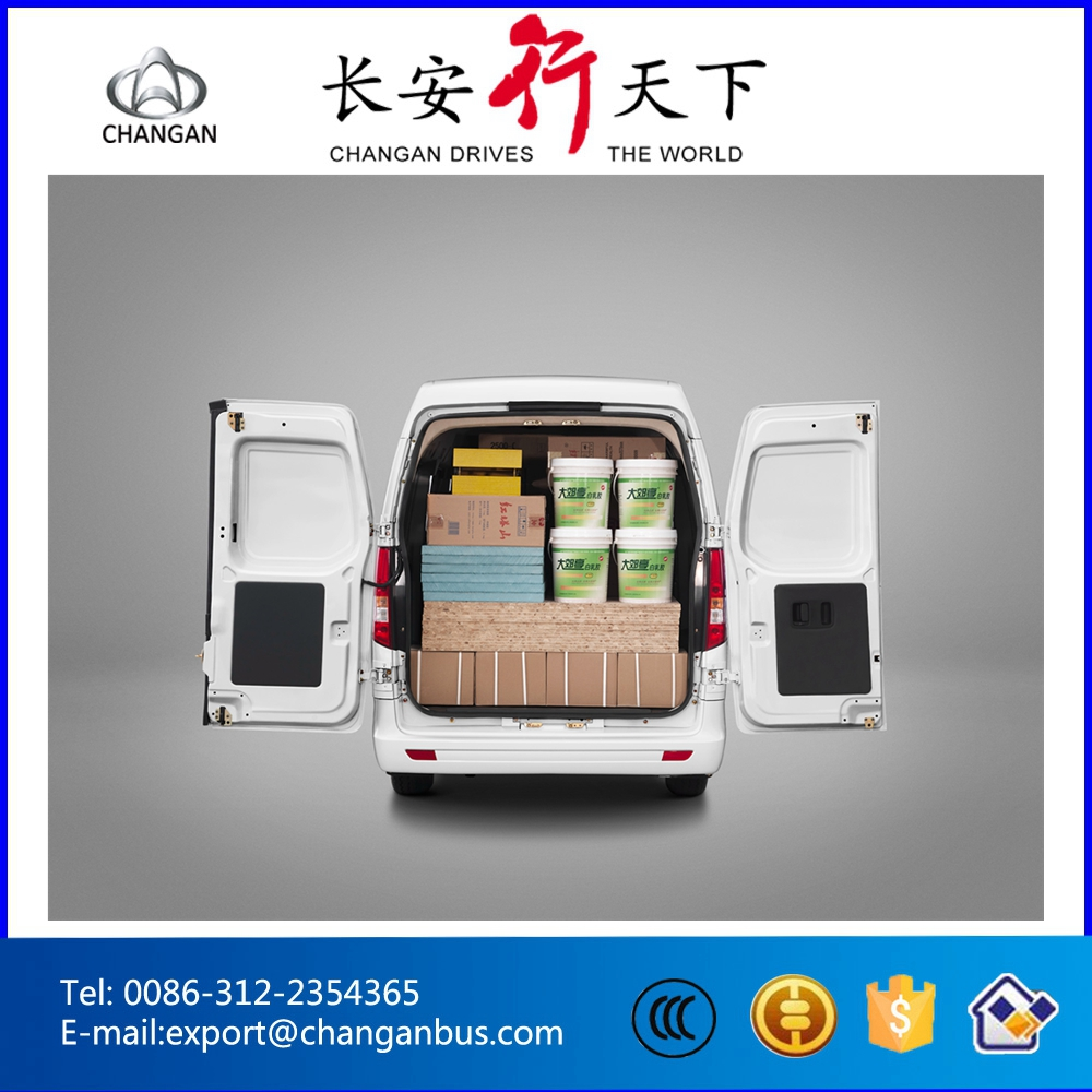 Gasoline Mini Bus Cargo Van Changan Bus