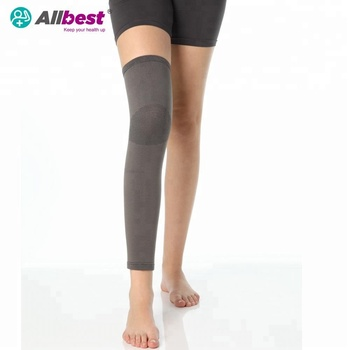 Elastic Thigh Knee Calf compression knee sleeve