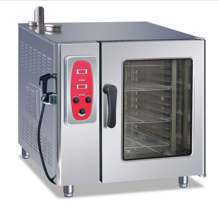 6-Tray Gas Combi-Steamer Oven Electronic
