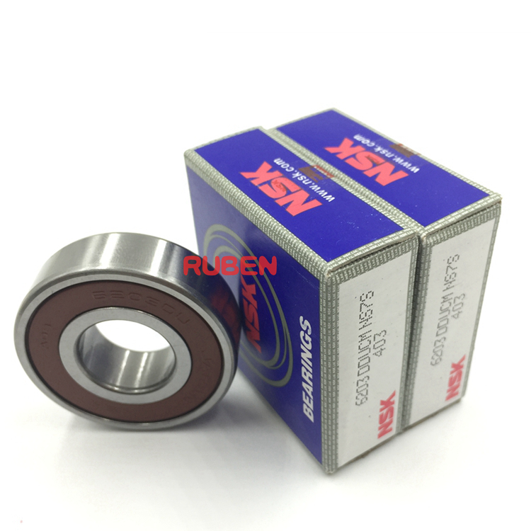 루벤 NSK 6203 Deep 홈 볼 봉인 볼 Bearing 6203 DDU ZZ 2RS Size 17*40*12mm