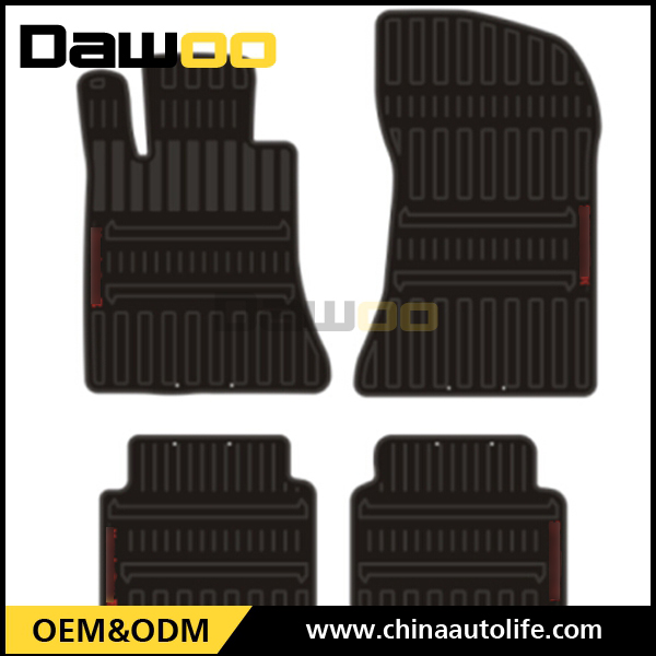 Used For Mercedes E W212 model fitted thick rubber floor mats car