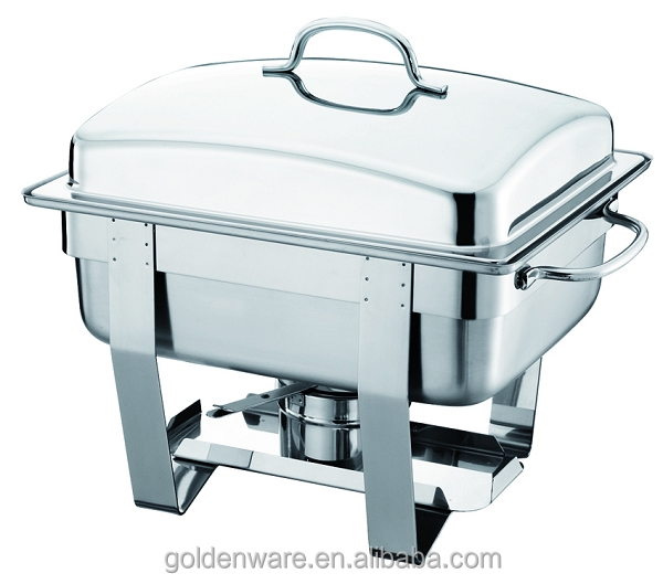 Golden Ware GW-634W 4L New Style Hot Sale Promotion chafing dish