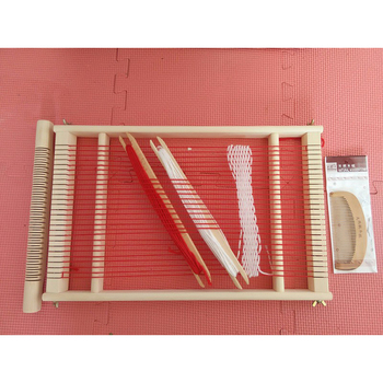 Kids Traditional Toy Creative Wooden Weaving Loom Toys Wood Product On Alibaba