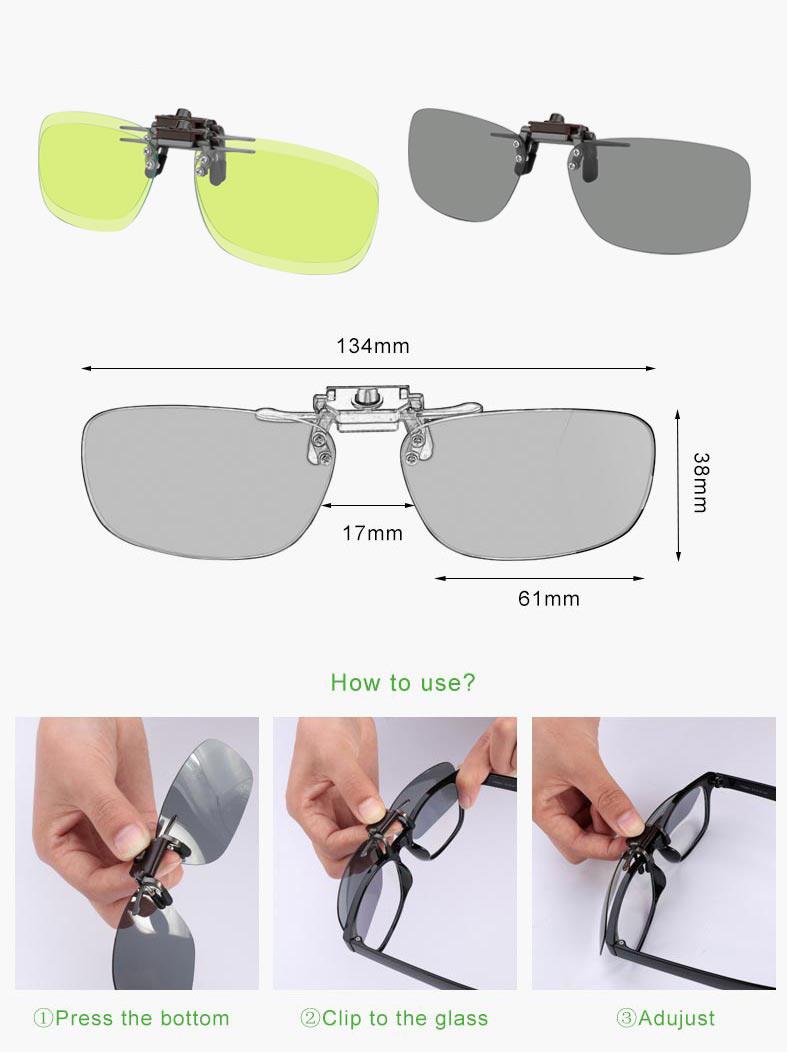 RockBros Single Lenses For Myopic Glasses Polarized Anti-blue Light Glasses