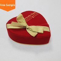 Traditional chinese red wedding favor box/diy chocolate packaging box