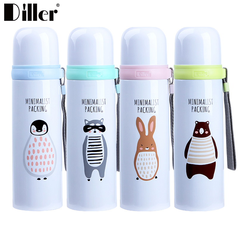 350ml / 500ml / More Design OEM LOGO Double Wall Stainless Steel vacuum flask